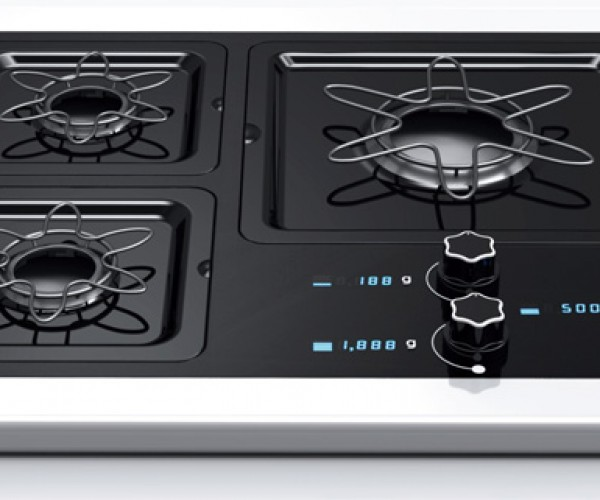 Scale Gas Range Lets You Cook By Weight