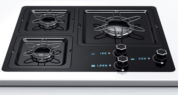 Scale Gas Range