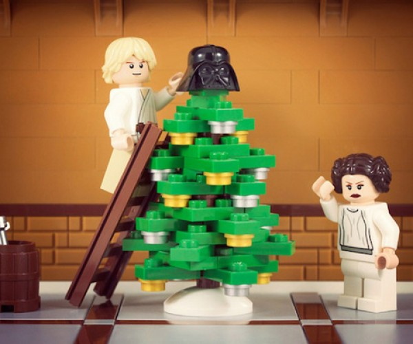 Christmas at the Skywalkers', LEGO Style