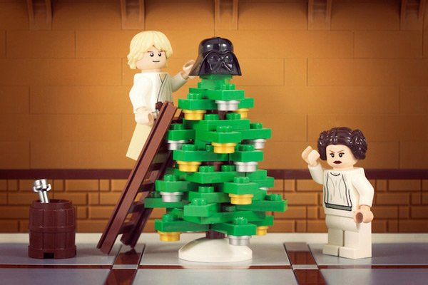 Skywalkers Star Wars Christmas LEGO 01