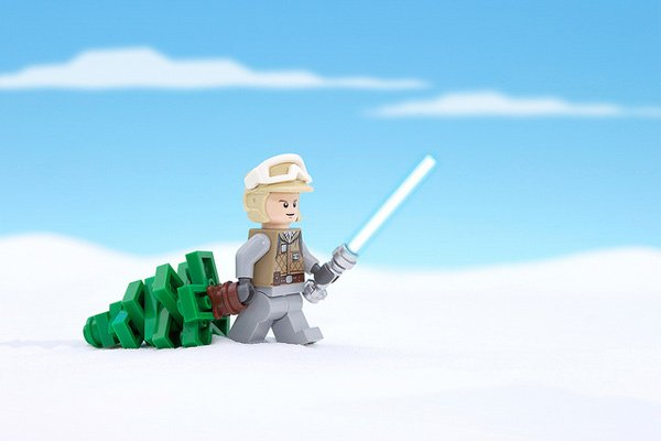chris mcveigh star wars lego minifig christmas skywalkers