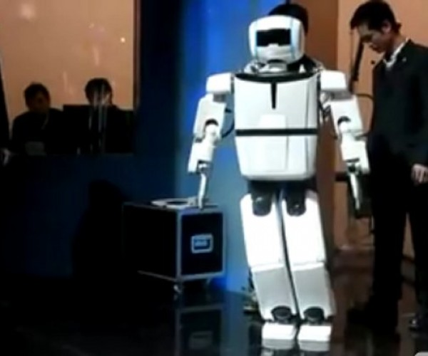 BHR-3 Humanoid Robot Does Tai chi While Awaiting Skynet's Signal