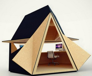 Tetra-Shed Cubicles: For a Totally Out-of-this-Office Experience