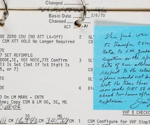 Far Out Space Nut Drops $380,000 on Apollo 13 Checklist