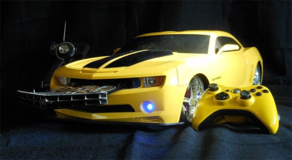 Transformers Bumblebee Xbox 360 Slim Casemod is More than ...