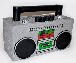 Boombox Piñata Drops Beats (and Candy)