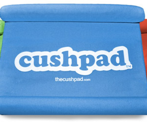 Cushpad Gives iPad 2 a Soft and Happy Home