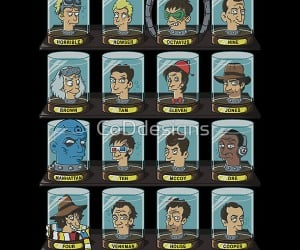 Doctorama: Because 16 Disembodied Heads of Doctors are Geekier Than One