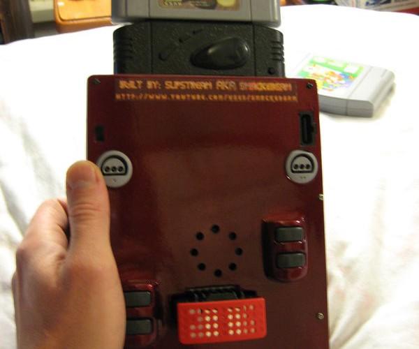 electus 64 portable handheld nintendo 64 mod 6