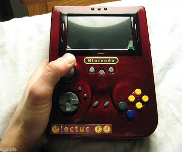 Electus 64 Portable Nintendo 64 Mod: Game Boy Becomes Game Man