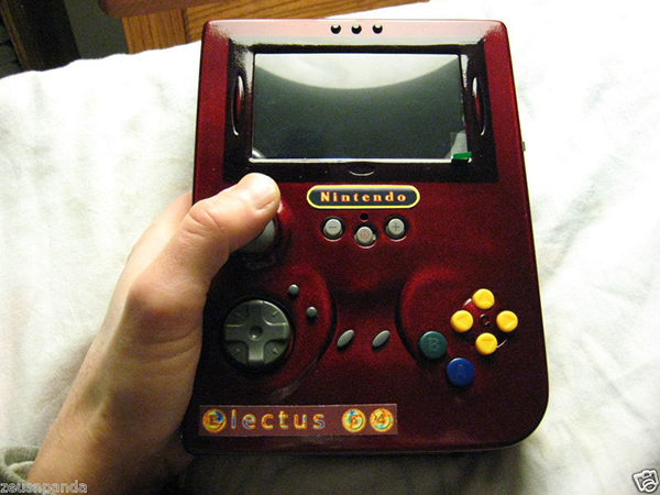 electus 64 portable handheld nintendo 64 mod