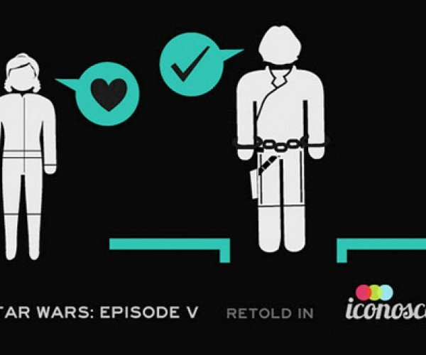 Star Wars Episode V Retold in Icons