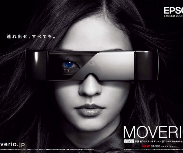 Epson Moverio BT-100 3D Head-Mounted Display: Are You Looking at My Headgear, Stan?