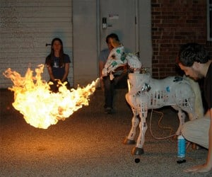 My Little Fire-Breathing Pony