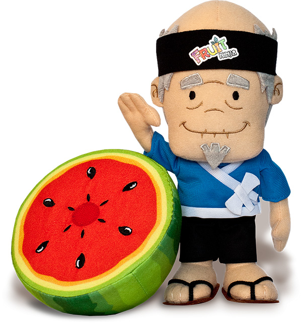 fruit ninja plush toys from halfbrick