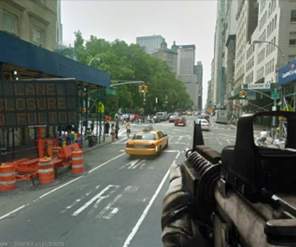 Google Shoot View: The World is Your FPS