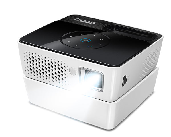 Benq joybee gp2 second gen palm projector shines twice as for Palm projector