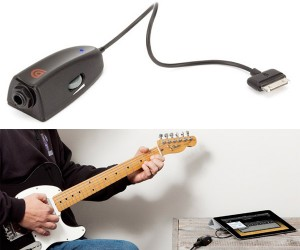 GuitarConnect Pro Connects a Guitar to the iPad or iPhone