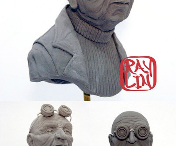 Futurama Characters Gets Sculpted in 3D