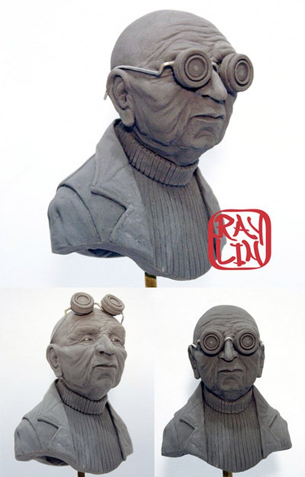 hubert farnsworth sculpture ray lin