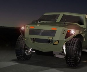 Military Humvees Go for Hybrid Power