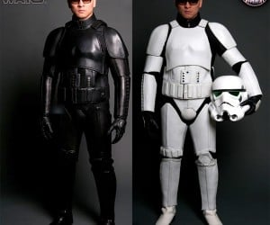 Stormtrooper Motorcycle Suits: At Last I Can Join the Sith's Angels Gang