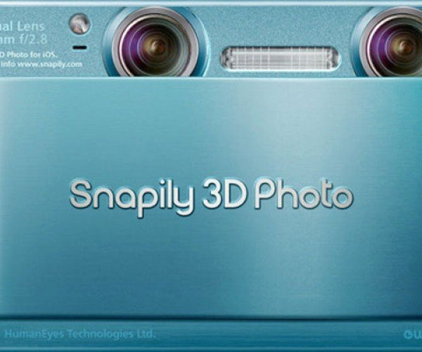 Snappily 3D App Happily Shoots 3D iPhone Pics (Glasses Not Included)