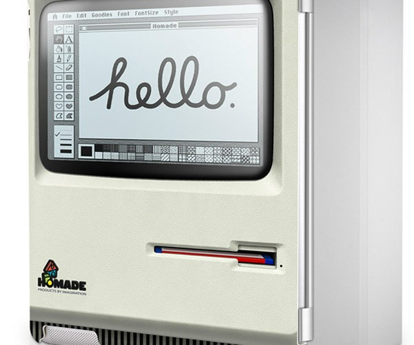 Cover Turns iPad 2 into Original Macintosh