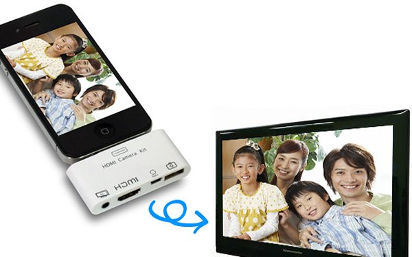 iphone ipad hdmi camera kit charge sync adapter from jtt