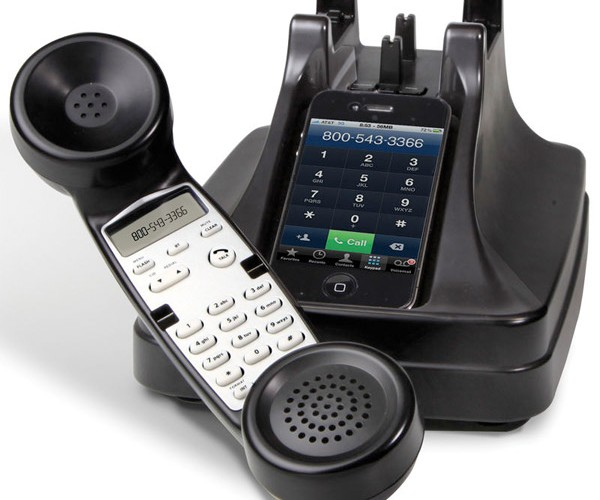 iPhone Cordless Handset Takes Your Phone Back in Time
