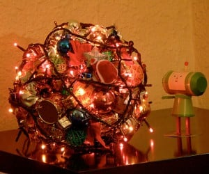 Katamari Christmas Tree is a Real Ball