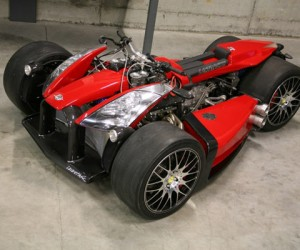 Ferrari-Powered Four-Wheeler Straps 250HP to Your Butt