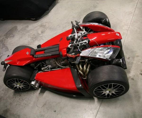 Ferrari-Powered Four-Wheeler Straps 250HP To Your Butt