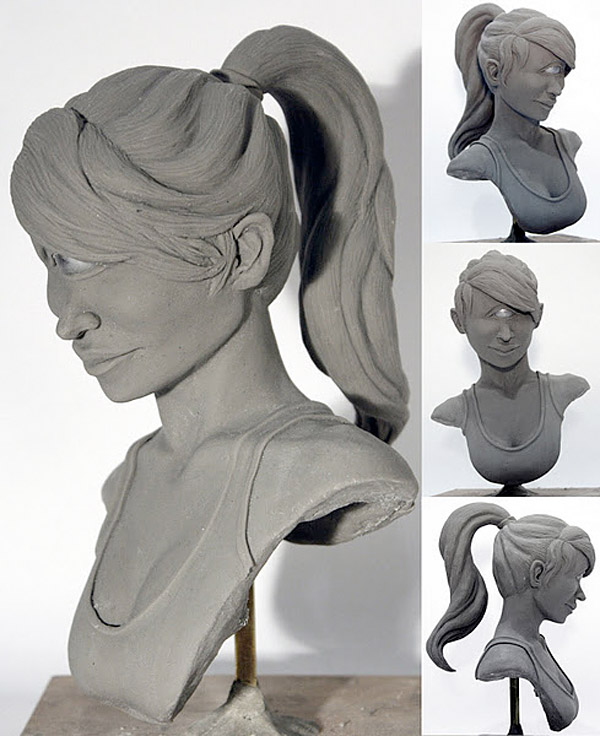 leela sculpture ray lin