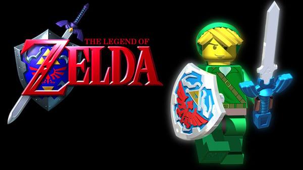 legend of zelda lego concept