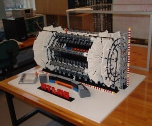 Physicist Builds LHC: LEGO Hadron Collider