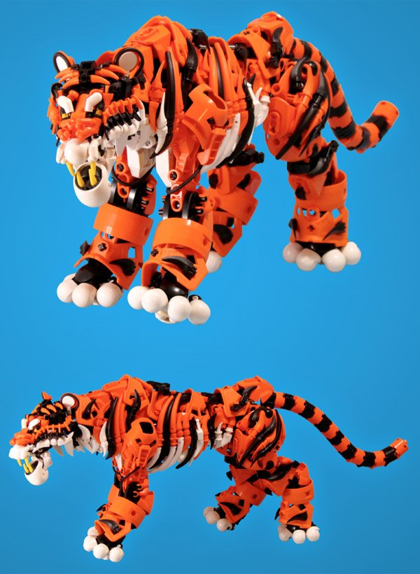 LEGO Bionicle Tiger Is on the Prowl - Technabob