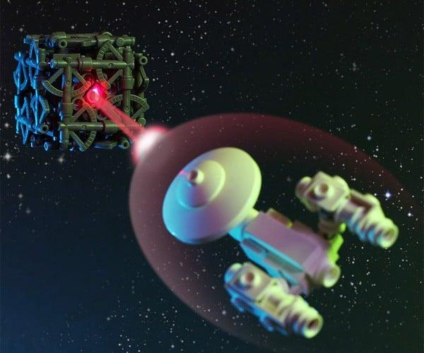 Little LEGO Borg Cube: Resistance is Futile