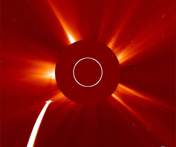 Lovejoy Comet Lives Through Brush with Sun's Corona