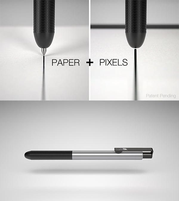 lunatik touch pen stylus concept