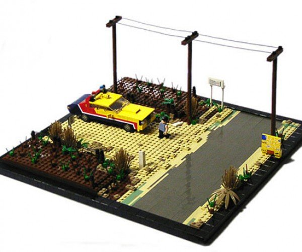 Mad Max Goes Beyond the LEGO-Dome
