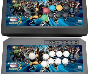 Hori Fight Stick for Ultimate Marvel vs Capcom 3 Now Available in the US