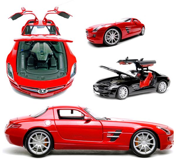 mercedes sls amg flash drives
