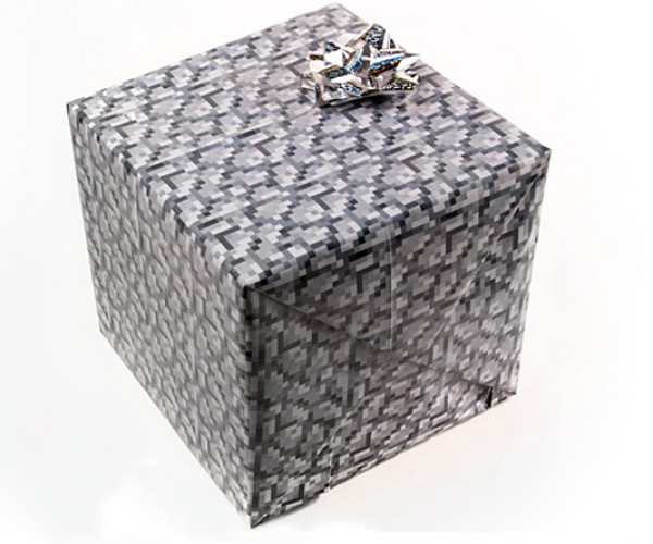 minecraft wrapping paper 4