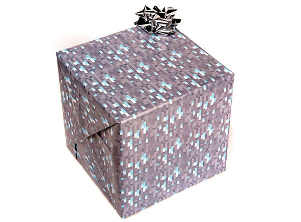 minecraft wrapping paper1