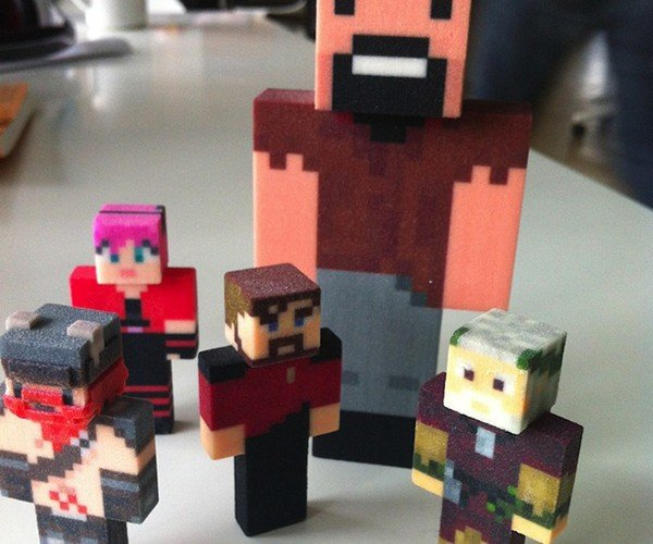 minetoys 3d printed minecraft avatar 2