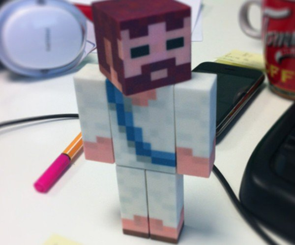 MineToys Crafts Minecraft Avatars in 3D