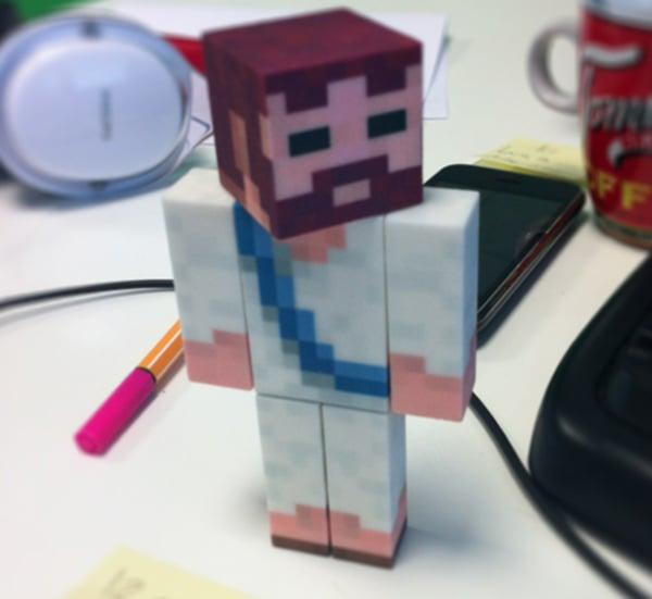 minetoys 3d printed minecraft avatar