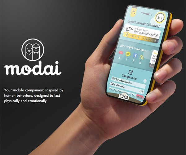 Modai Phone Could Become Your Best Friend