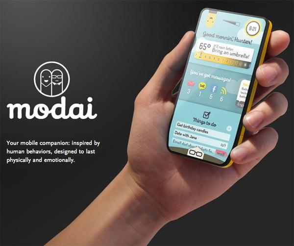 modai social phone concept 1